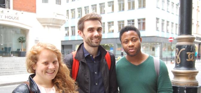 Harriet, Matt and Debo