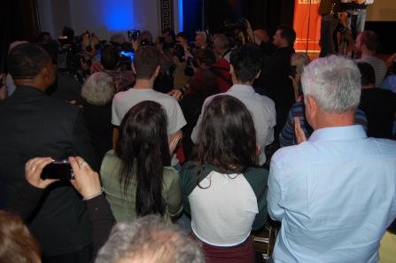Corbyn is ambushed by reporters as he arrives