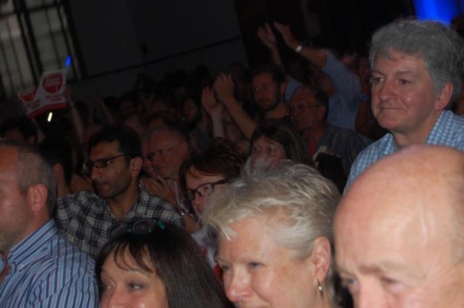 Crowds for Corbyn
