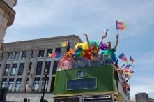 colourful bus