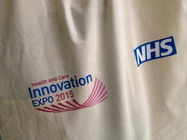 nhs expo tote bag