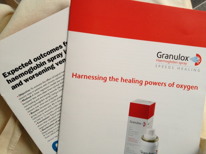 granulox haemoglobin spray leaflets and journal